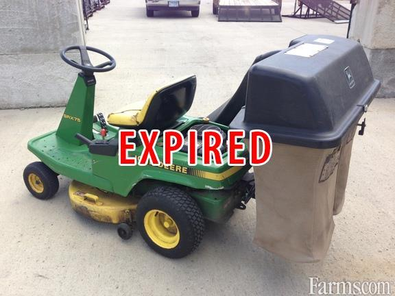 1991 John Deere Srx75 Riding Lawn Mower Classified