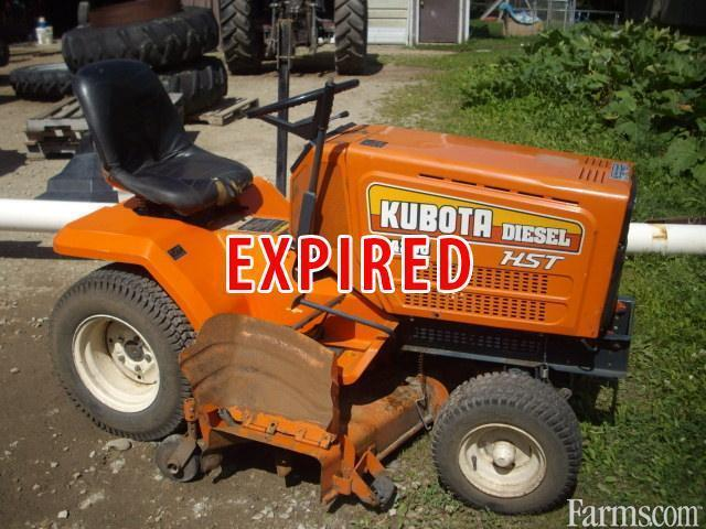 Kubota g4200 mower for sale for Used lawn and garden equipment
