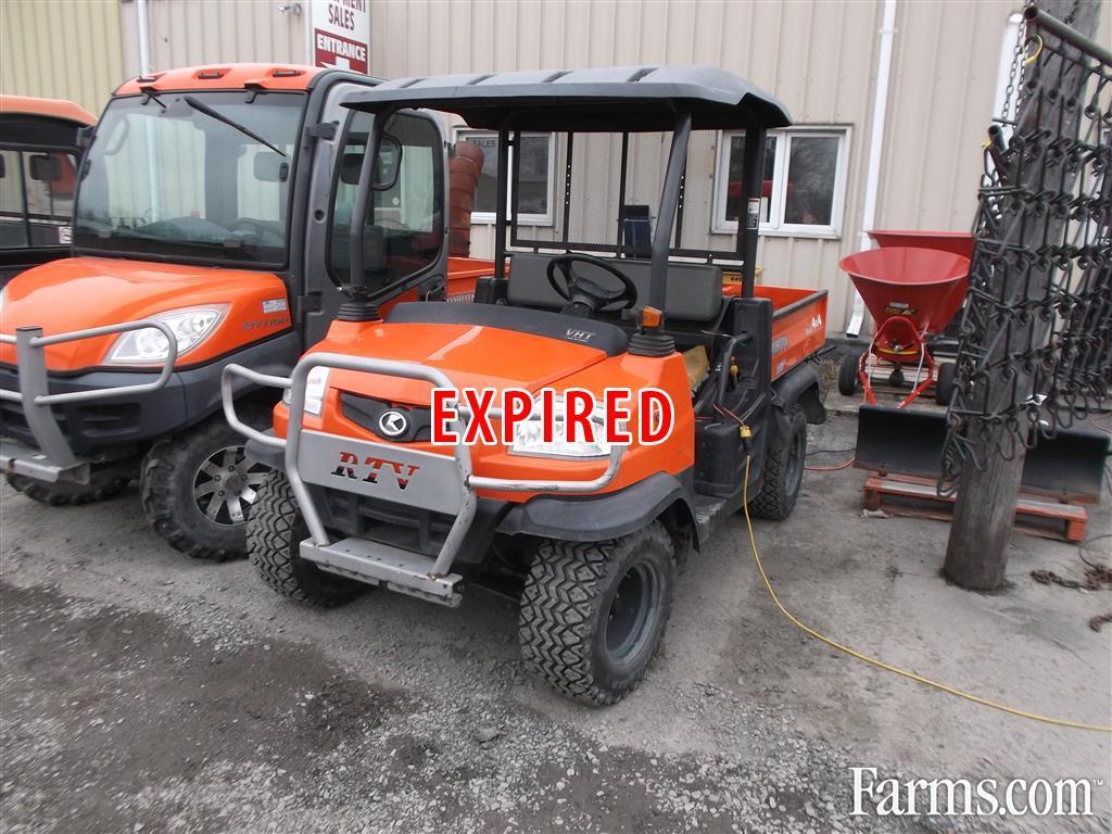 Kubota Rtv900 Recreational : Kubota rtv for sale farms