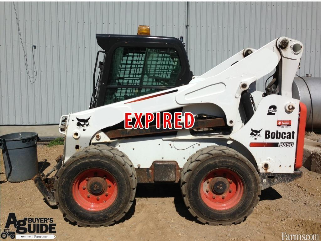 Bobcat Of Brantford >> 2011 Bobcat S850 for Sale | Farms.com