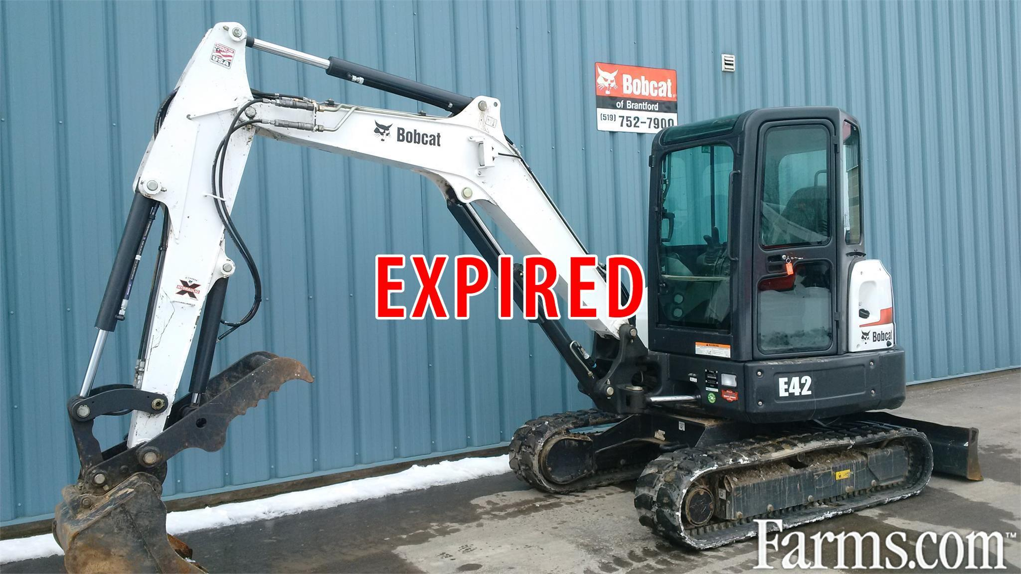 Bobcat Of Brantford >> 2015 Bobcat E42 for Sale | Farms.com