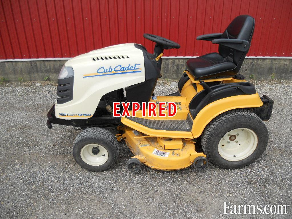 Cub Cadet Lawn Mowers Dealers : Cub cadet gt riding lawn mower for sale farms