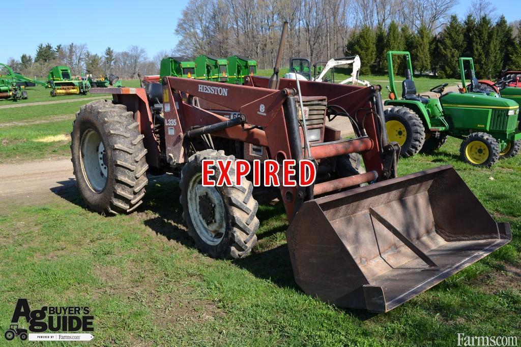 Fiat Hesston Tractors Farm : Hesston tractor for sale farms