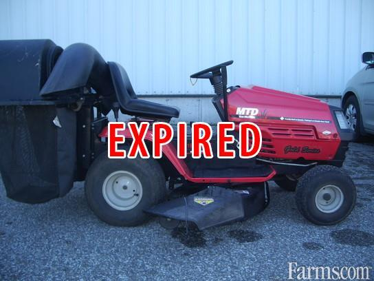Mtd Gold Lawn Tractor : Mtd os gold series riding lawn mower for sale farms