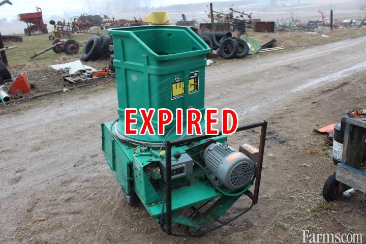 Used Bedding Chopper For Sale