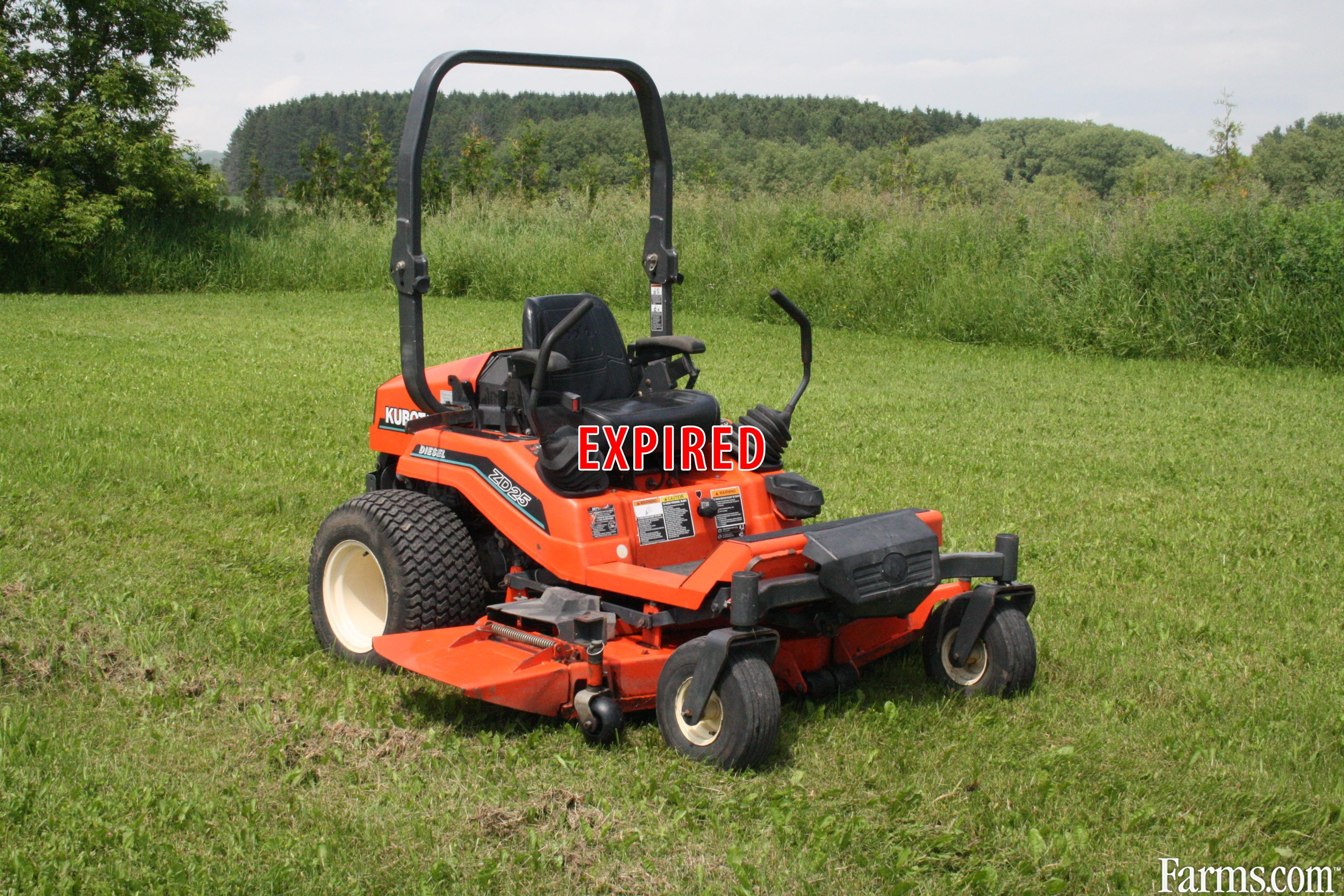 Kubota zd25 for sale for Used lawn and garden equipment