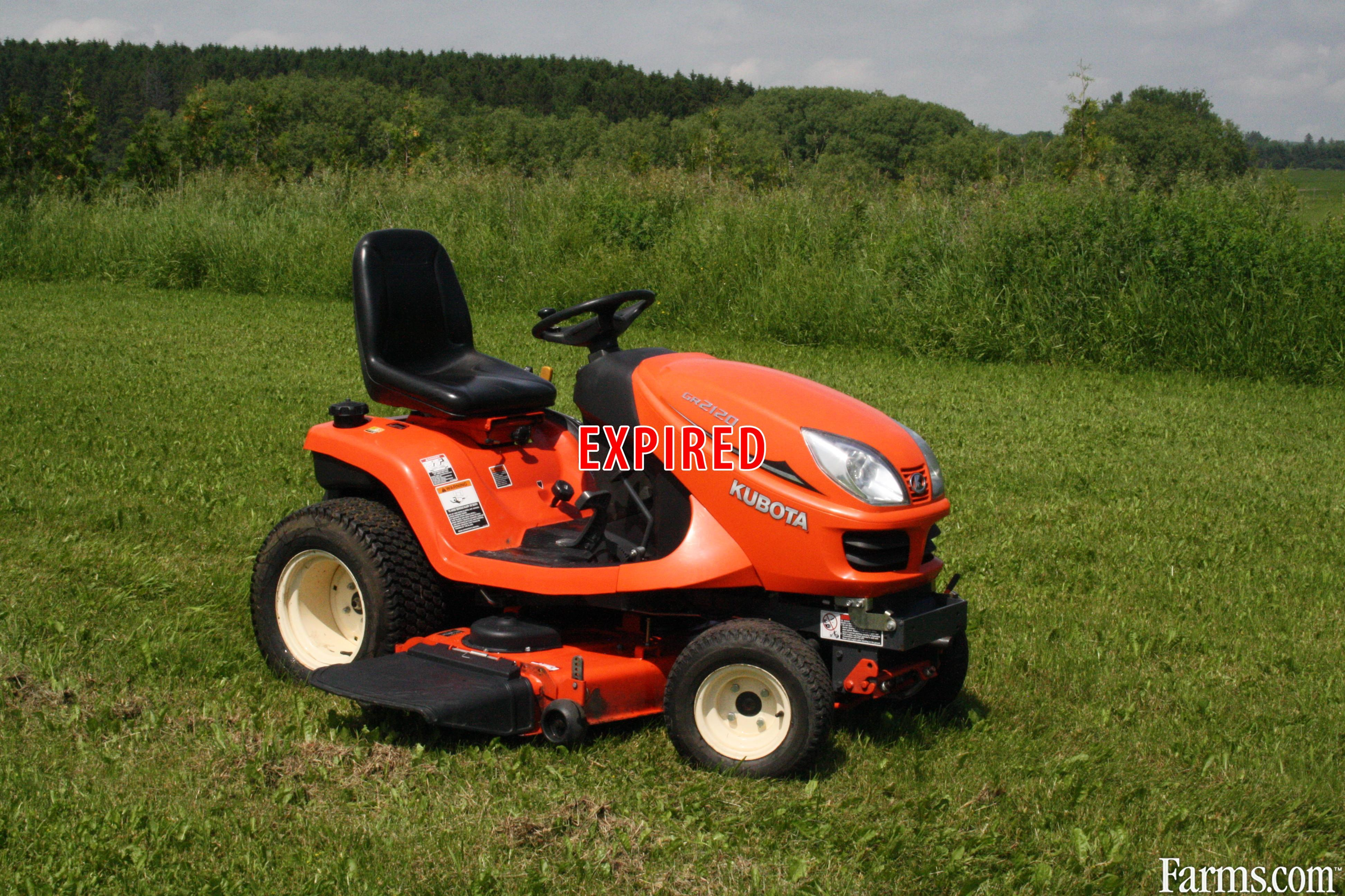 Kubota gr2120 for sale for Used lawn and garden equipment
