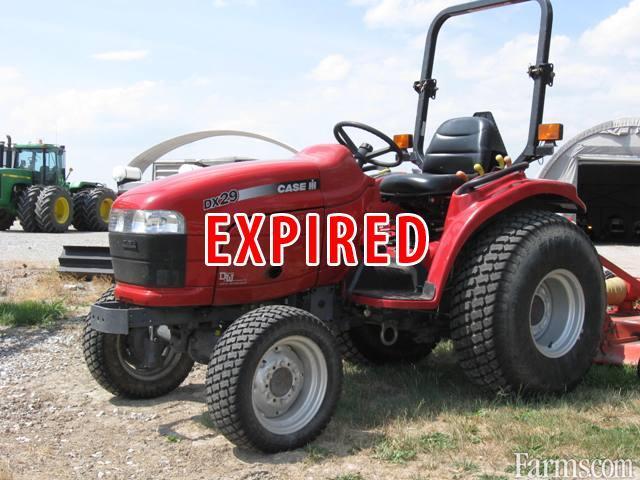 Farmall Compact Tractors For Sale : Case ih farmall dx tractor compact for sale