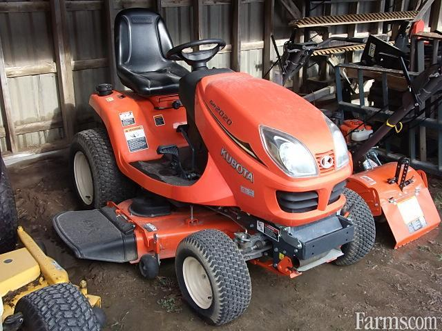 2015 Kubota Gr2020 Riding Lawn Mower For Sale Farms Com