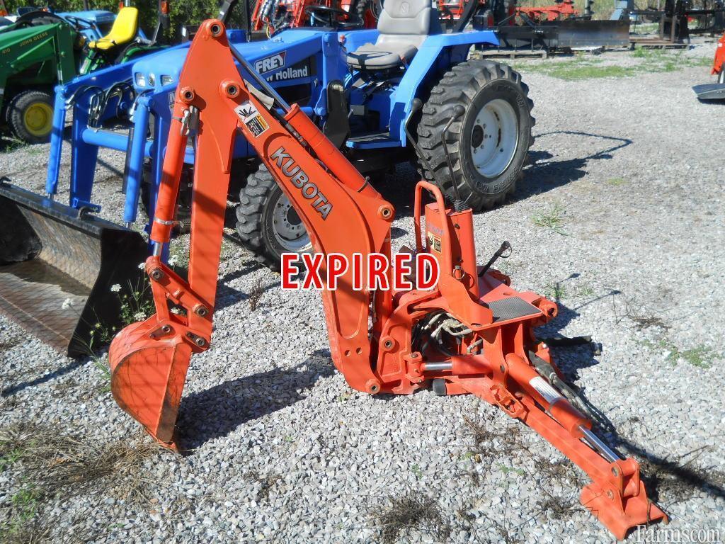 Kubota Tractor Backhoe Buckets : Kubota bt backhoe attachment for sale farms