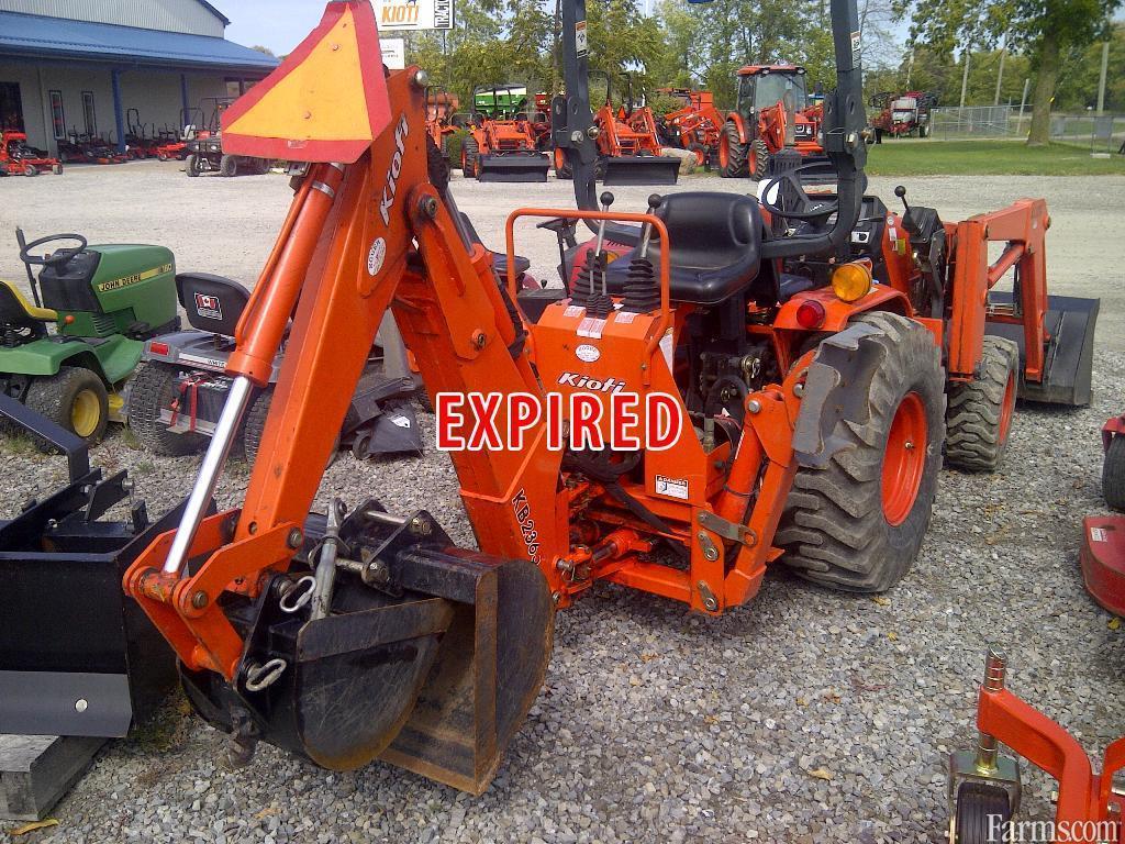 Kioti Tractor Accessories : Kioti lb loader tractor for sale farms