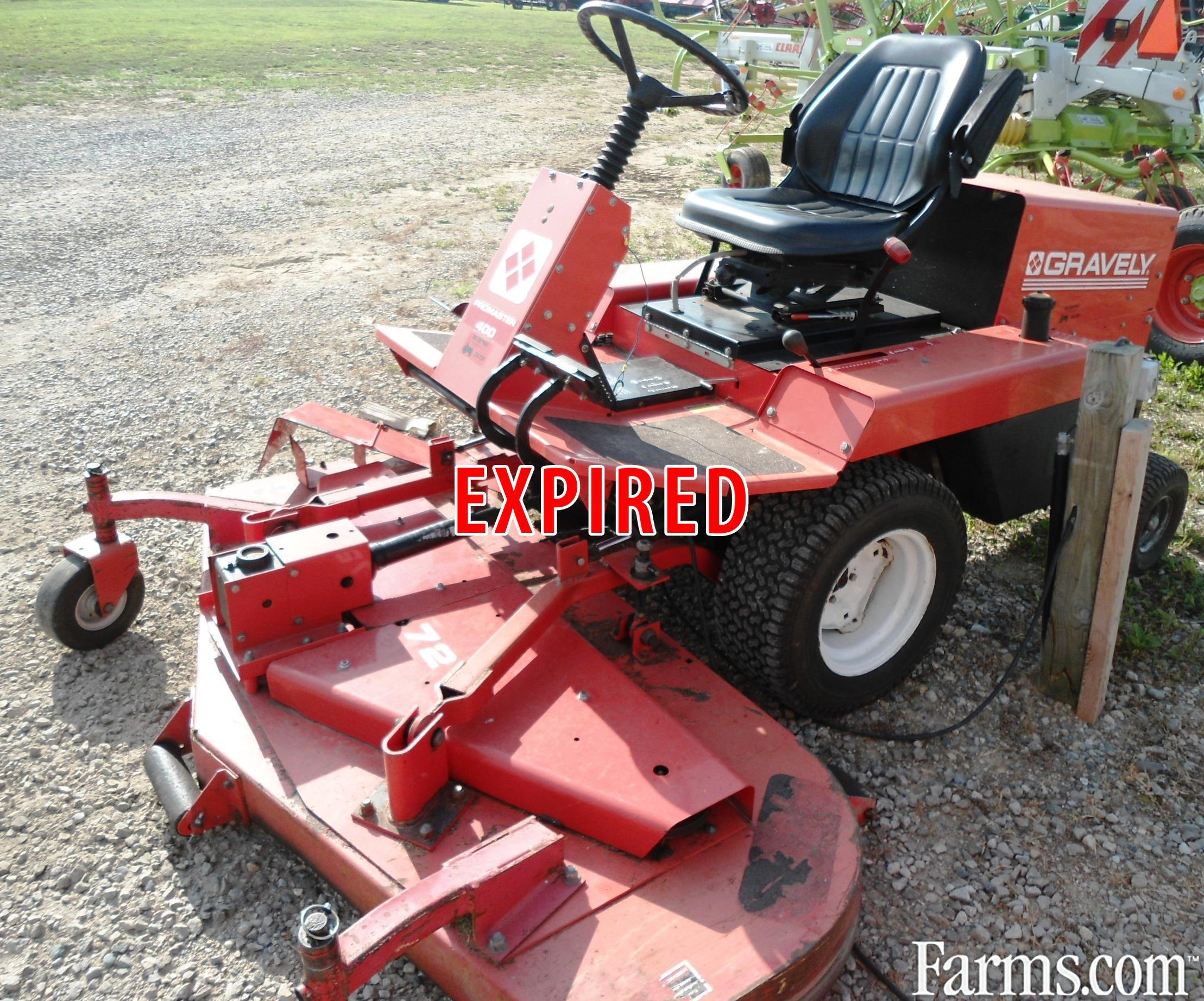 Gravely Promaster 400 Mower Front Deck For Sale Farms Com