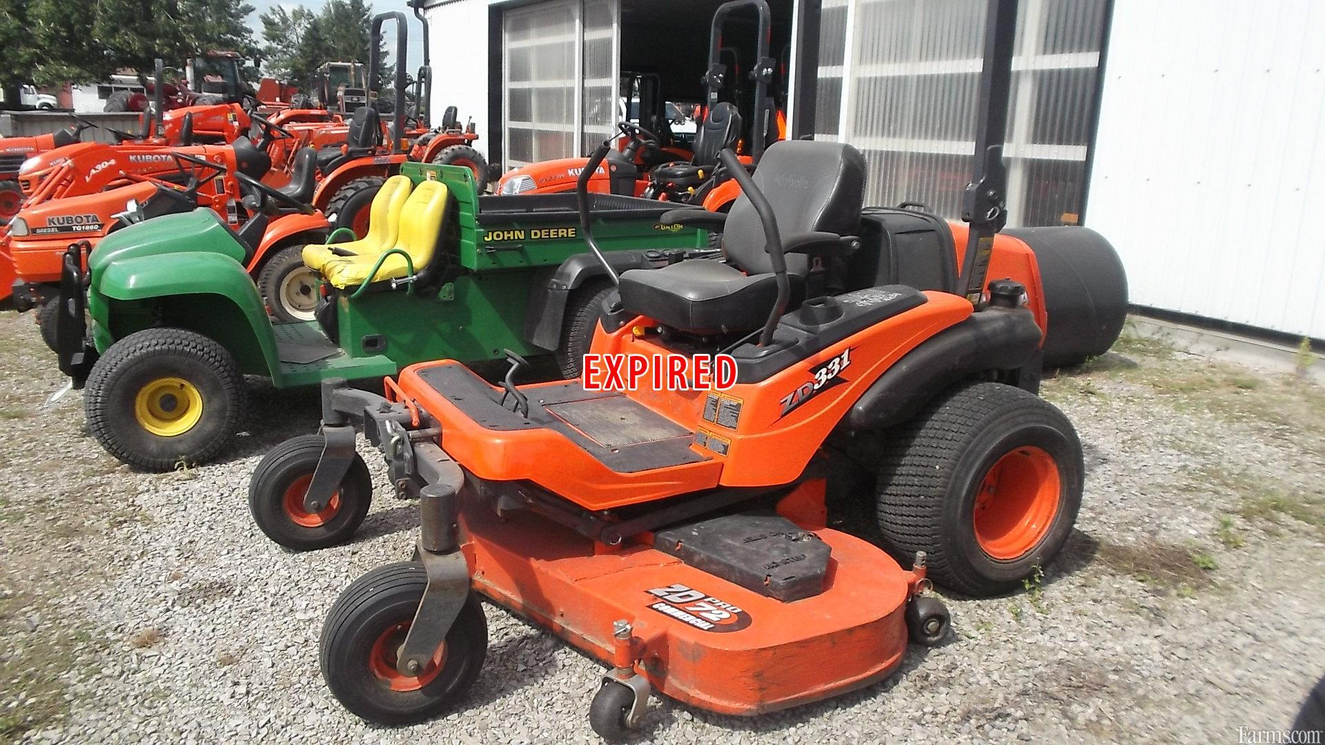 Kubota Zd331 Lawn Mower For Sale