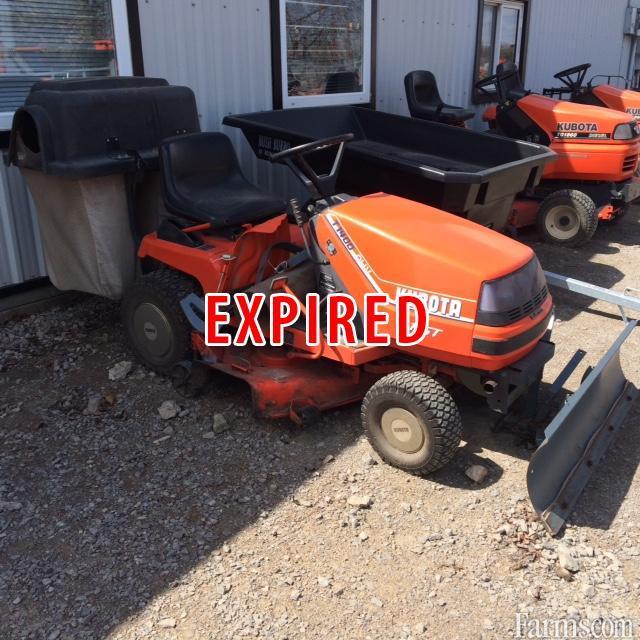 Kubota T1400 Lawn Mower For Sale Farms Com