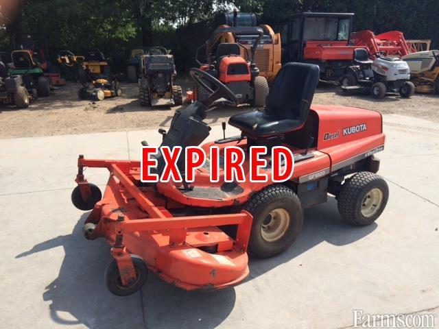 Kubota Gf1800 Lawn Mower Classified Farms Com
