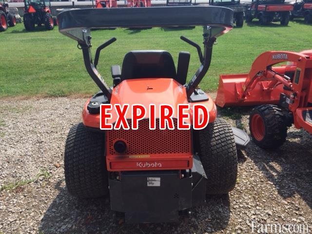 Zd221 Kubota Transmission : Kubota zd lawn mower for sale farms