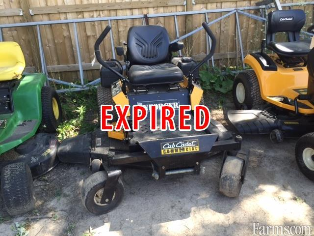 Cub Cadet Lawn Mowers Dealers : Cub cadet enforcer lawn mower for sale farms