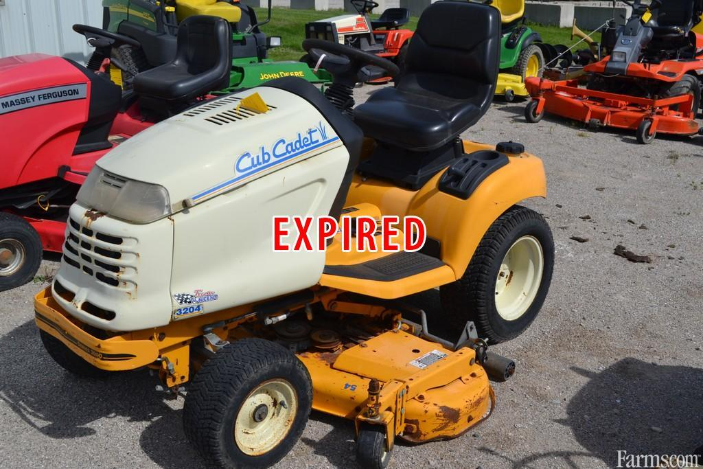 Cub Cadet Lawn Mowers Dealers : Cub cadet garden tractor for sale farms