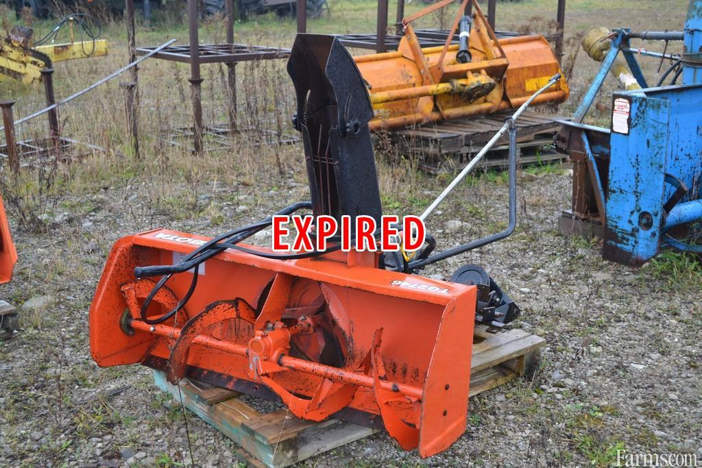Kubota tg2746 snow blower for sale for Used lawn and garden equipment