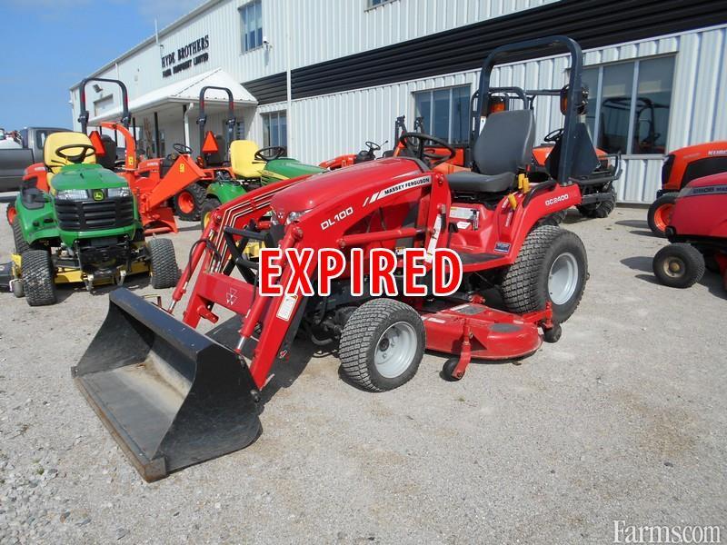 Massey Ferguson 2400 : Massey ferguson gc compact tractor w loader