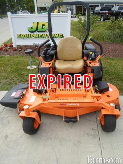 2016 Scag Patriot Riding Lawn Mower For Sale Farms Com