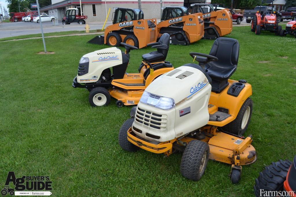 Cub Cadet Lawn Mowers Dealers : Cub cadet lawn tractor for sale farms