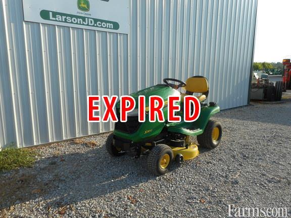 2015 john deere x300 for sale. Black Bedroom Furniture Sets. Home Design Ideas
