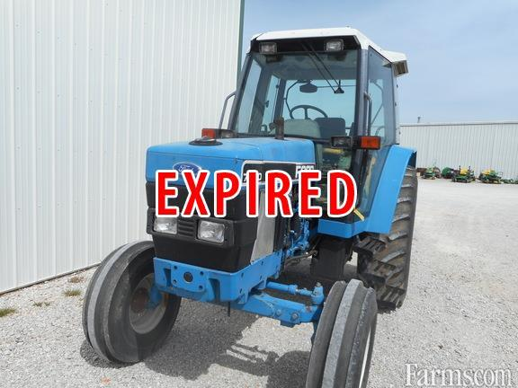 Used Ford Garden Tractors : Ford s other tractor for sale farms
