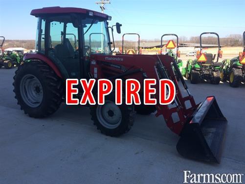2014 Mahindra 6110 For Sale Farms Com