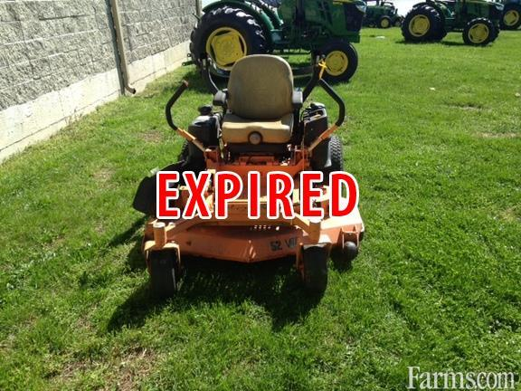 2013 Scag Tiger Cat Stc52v 61fx Riding Lawn Mower For Sale