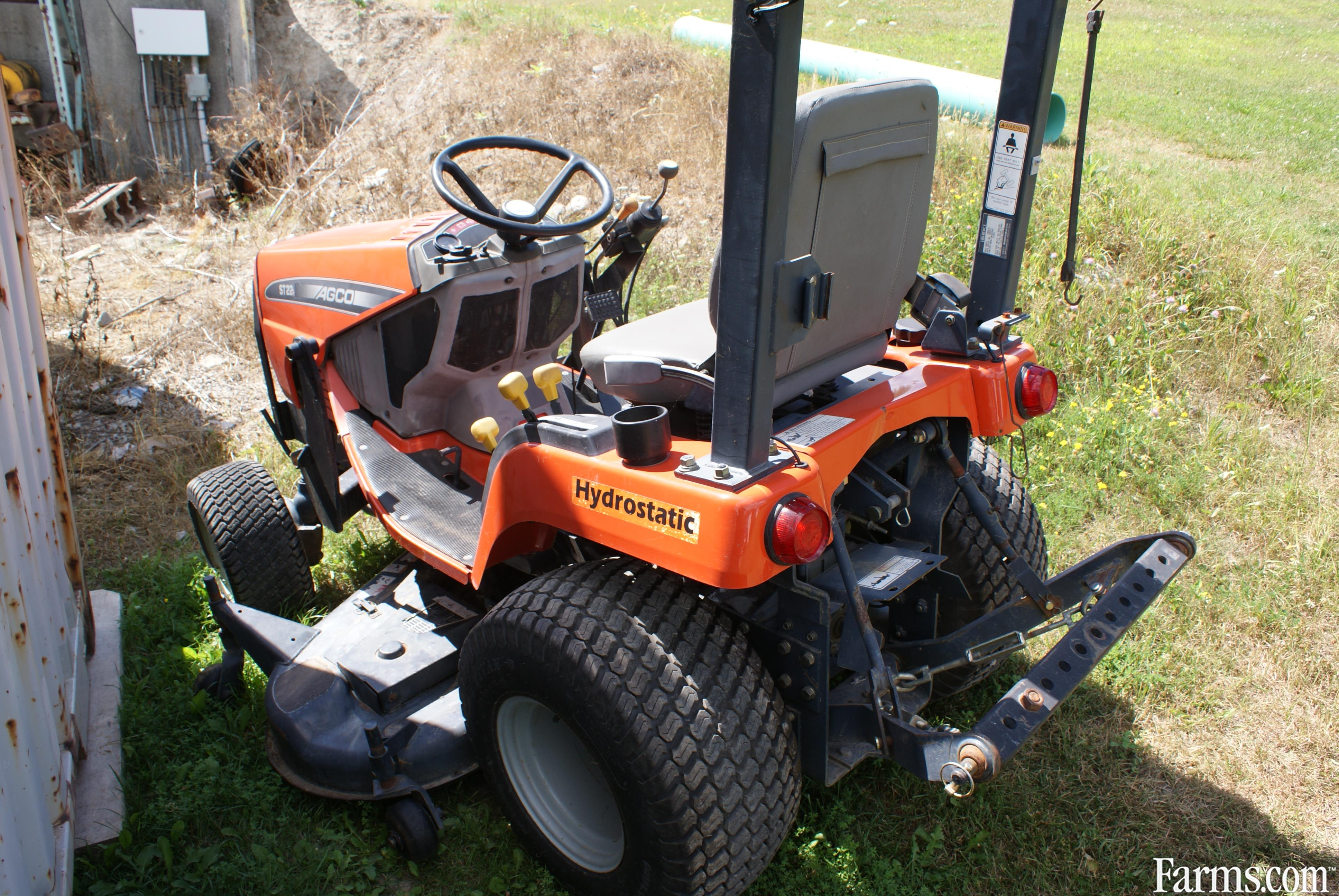Recycled Tractor Parts : Agco st a for sale farms