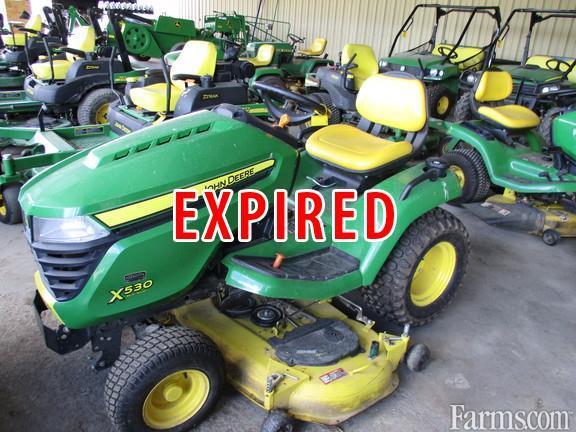 John Deere X530 Lawn Tractor : John deere riding lawn mower for sale farms