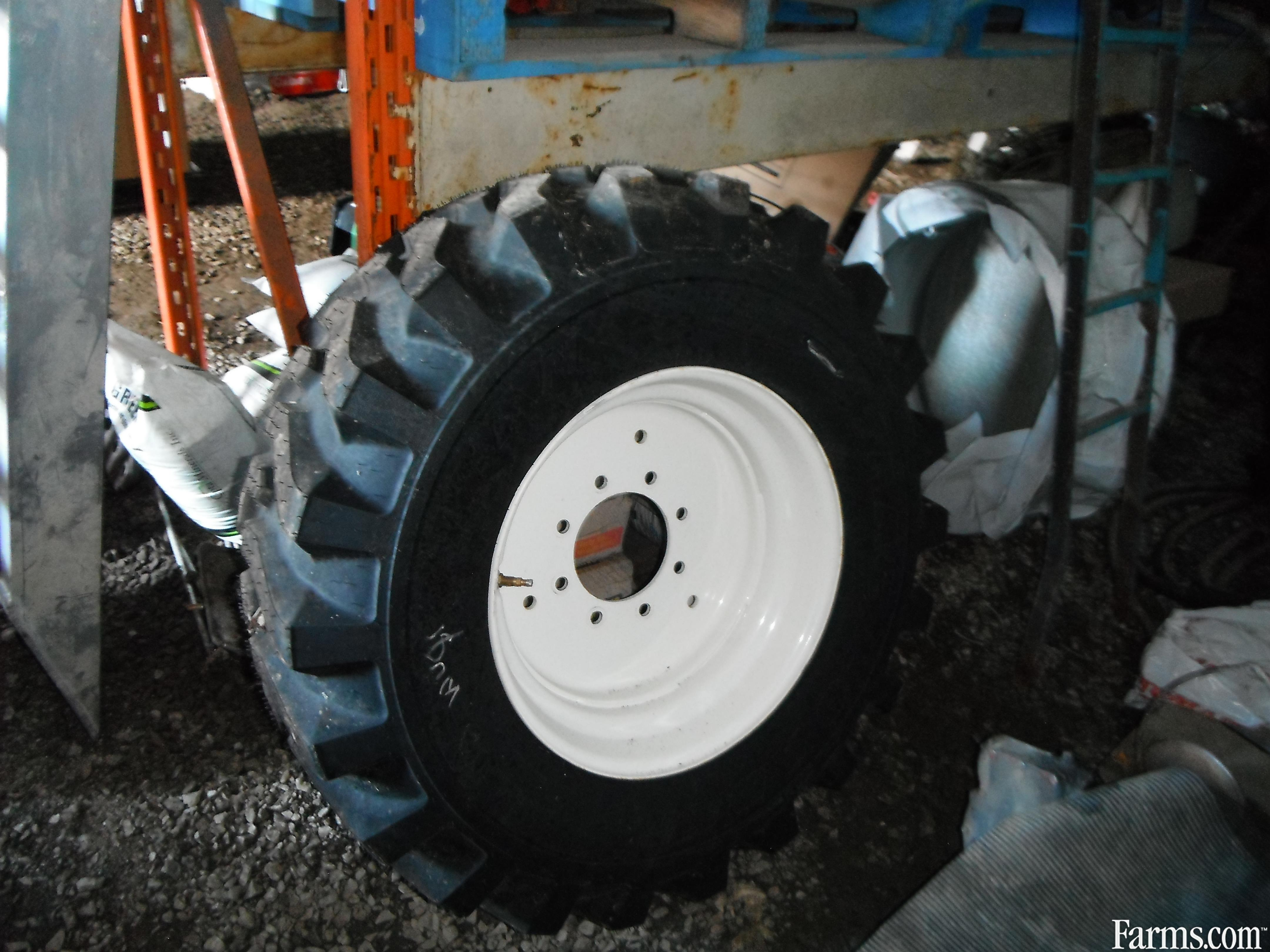 New new holland compact tires rims for sale for Scrap tractor tires