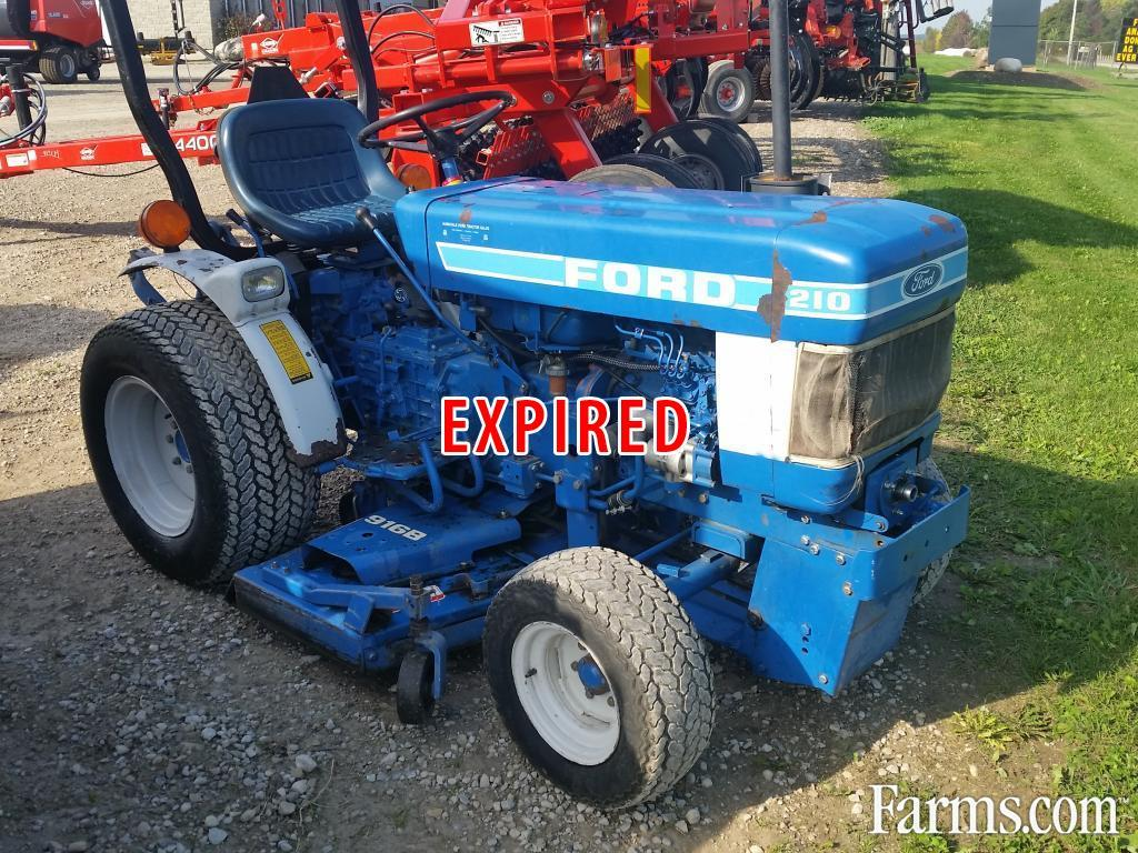 Used Ford Lawn Tractor : Ford riding lawn mower for sale farms