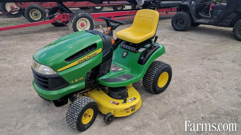John Deere La125 Riding Lawn Mower For Sale Farms Com