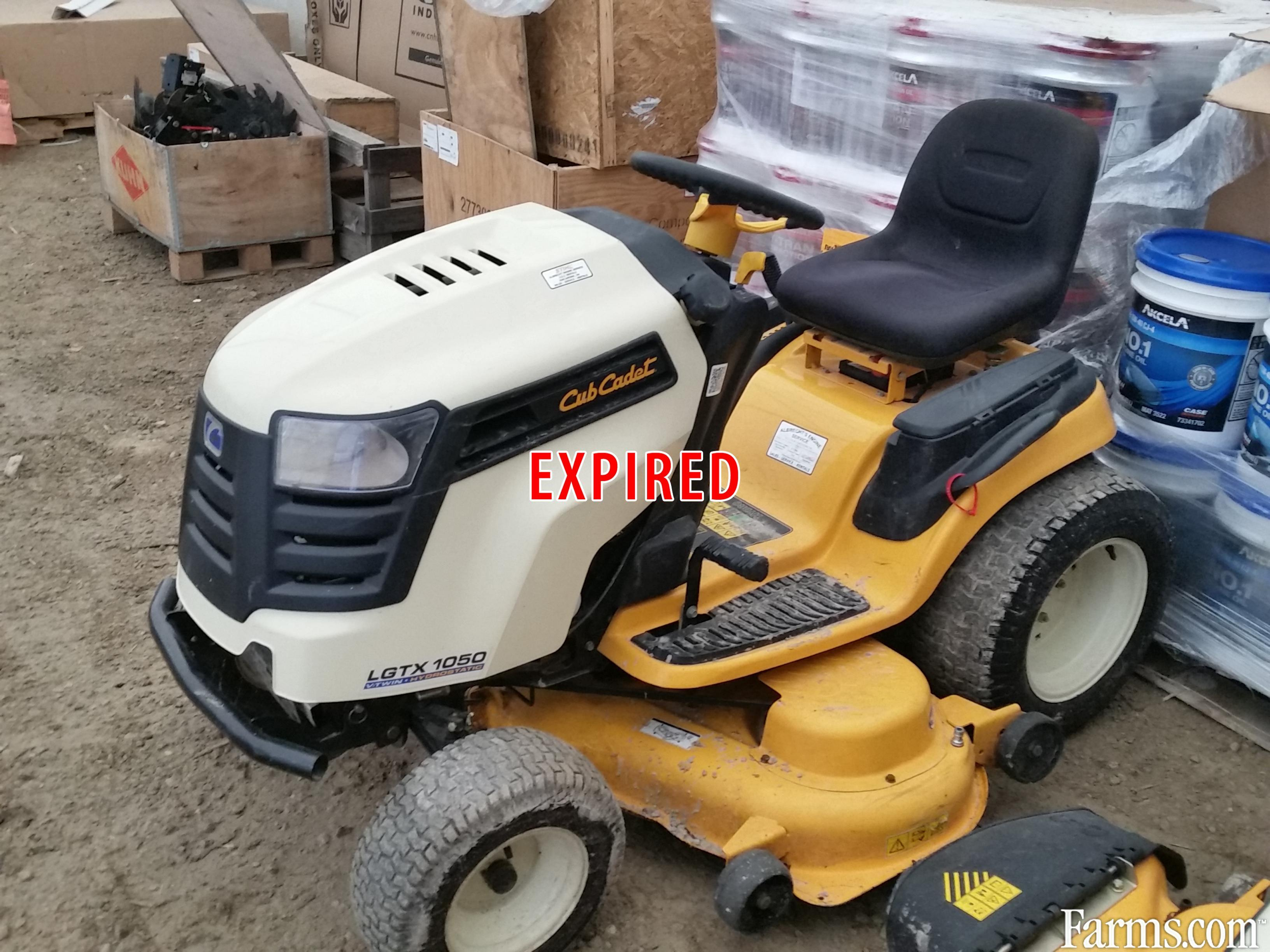 Cub Cadet Lawn Mowers Dealers : Cub cadet lgtx riding lawn mower for sale farms