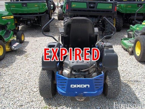 2012 Dixon Ram 48 Zt Riding Lawn Mower For Sale Farms Com