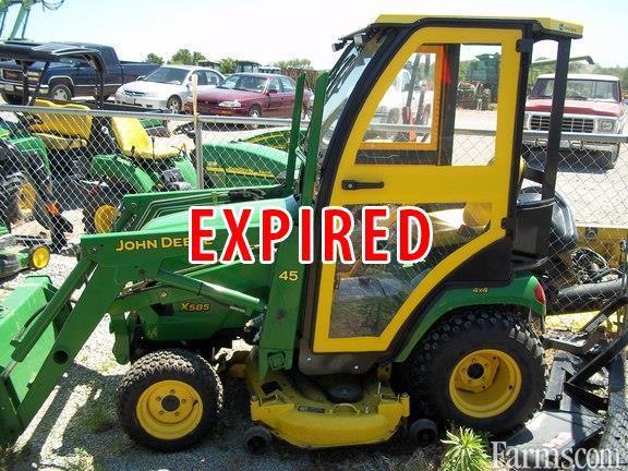 2002 John Deere X585 Riding Lawn Mower For Sale Farms Com