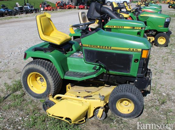 John deere 445 for sale for Used lawn and garden equipment