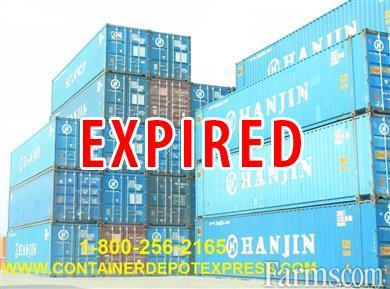 USED STEEL STORAGE CONTAINER FOR RENT OR PURCHASE for Sale